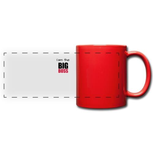 I am the big boss - Mug panoramique uni