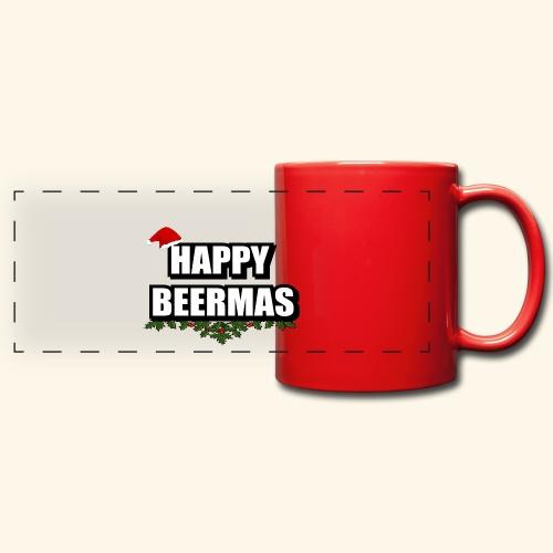 HAPPY BEERMAS AYHT - Full Color Panoramic Mug