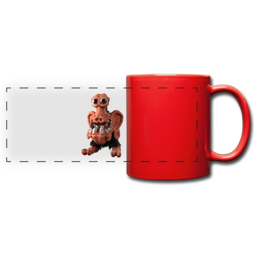 Very positive monster - Full Color Panoramic Mug