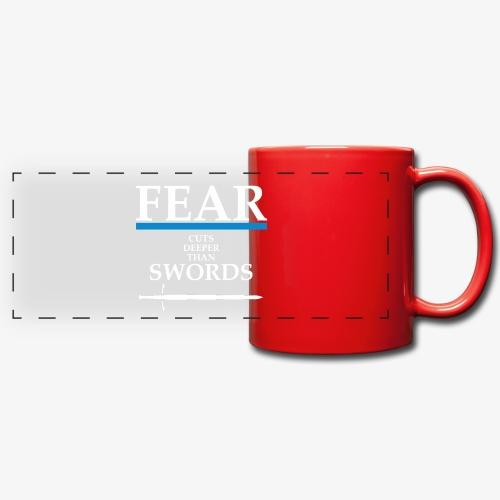FEAR CUTS DEEPER - Full Colour Panoramic Mug