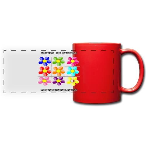 logo of my #MultiDimensionalMotors blog - Tazza colorata con vista
