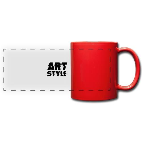 art style 3 - Kolorowy kubek panoramiczny