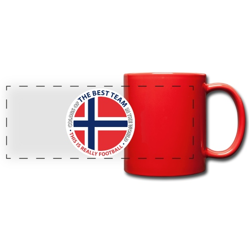 Norway Best Football Team - Full Colour Panoramic Mug