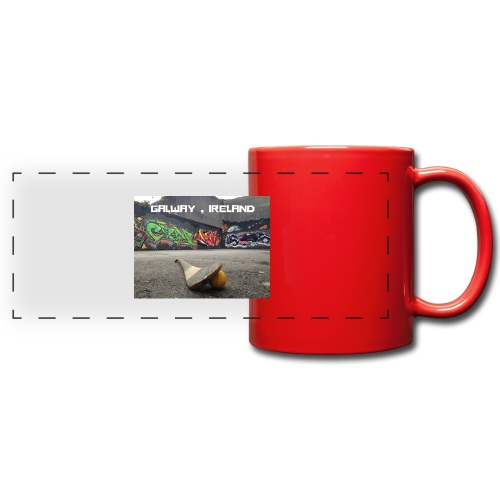 GALWAY IRELAND BARNA - Full Color Panoramic Mug