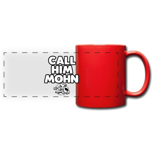 CallHimMohn - Panoramatasse farbig