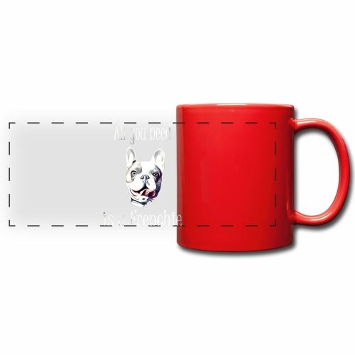 Französische Bulldogge T-Shirt Frenchie - Panoramatasse farbig