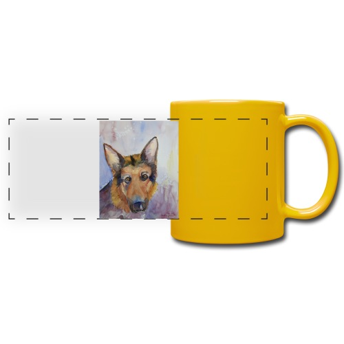 german shepherd wc - Panoramakrus, farvet