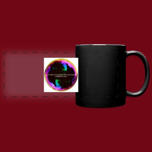 Blase - Panoramatasse farbig