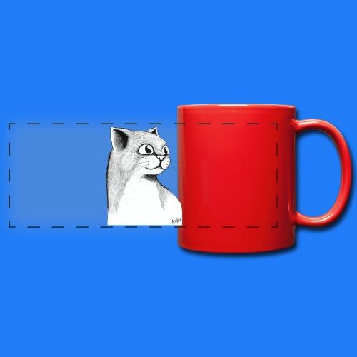 CAT HEAD by AGILL - Mug panoramique uni