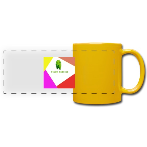 Study Android - Taza panorámica de colores