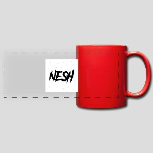 Nesh Logo - Panoramatasse farbig