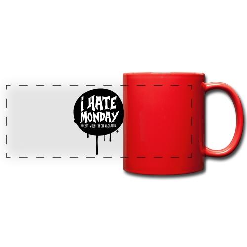 je déteste le lundi - Mug panoramique uni