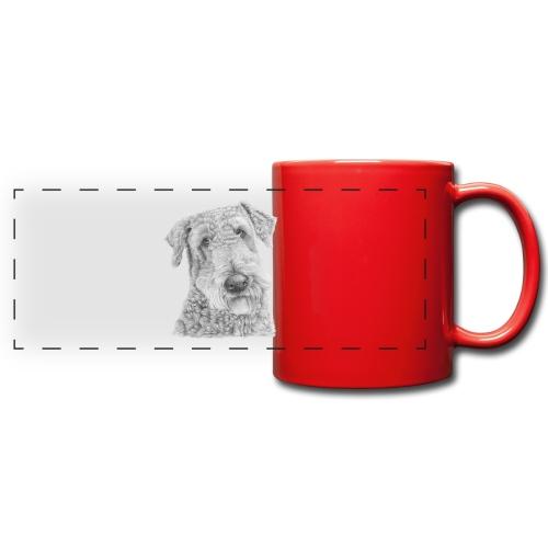 airedale terrier - Panoramakrus, farvet