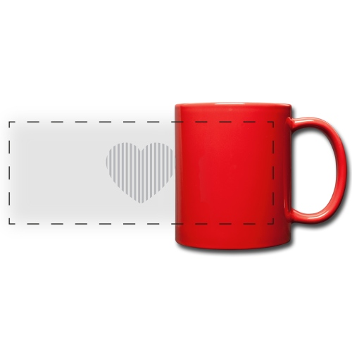 heart_striped.png - Full Color Panoramic Mug