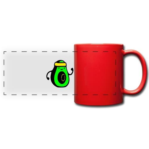 aguacate ninja - Taza panorámica de colores