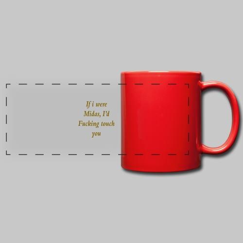 I hate you, basically. - Full Colour Panoramic Mug