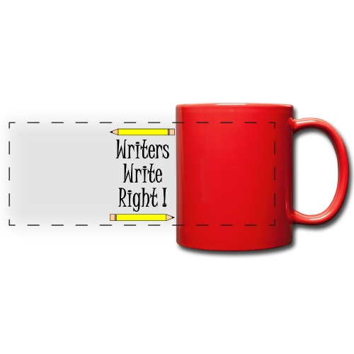 Writers Write Right - Full Color Panoramic Mug