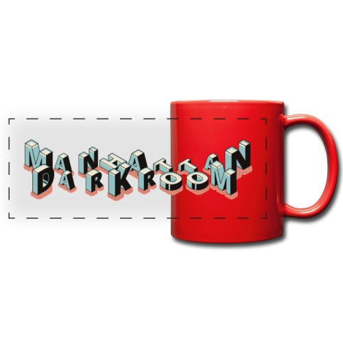 THE MANHATTAN DARKROOM - Mug panoramique uni