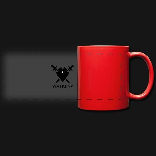 Walkeny Schwert Logo! - Panoramatasse farbig
