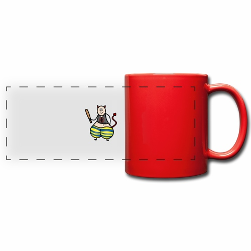 Devil No Touchies Charlie - Full Color Panoramic Mug