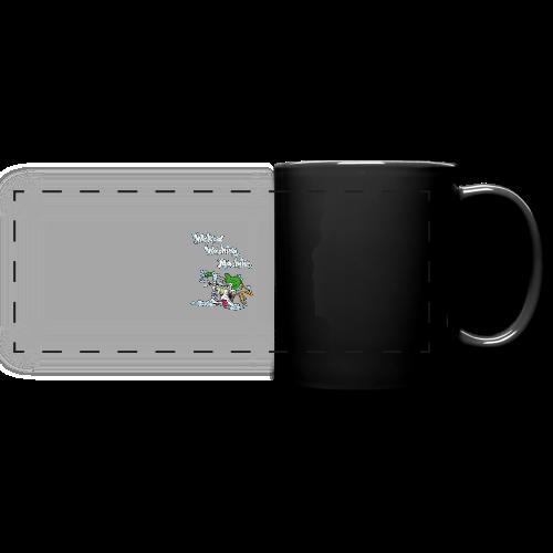 Wicked Washing Machine Cartoon and Logo - Panoramamok gekleurd