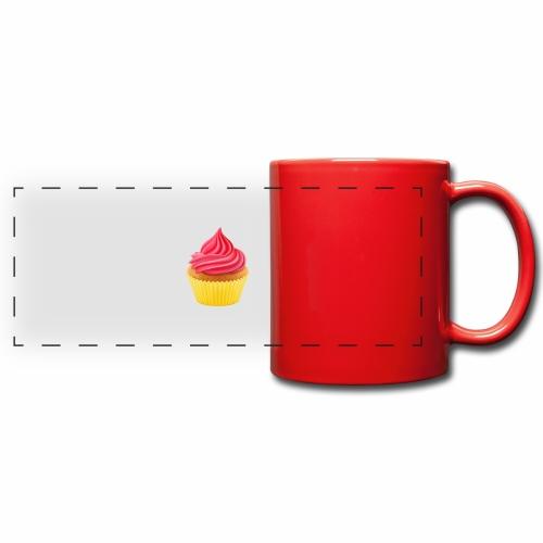 Cupcake - Panoramatasse farbig