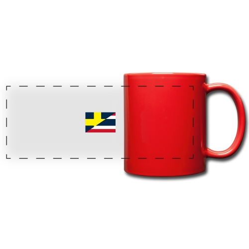 thailands flagga dddd png - Full Color Panoramic Mug