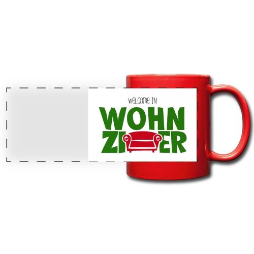 Wohnzimmer-Logo - Panoramatasse farbig
