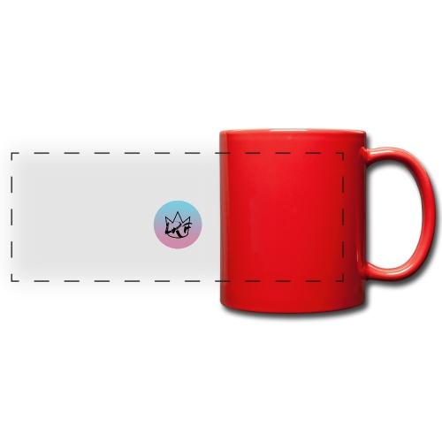 logo lrf rond black casquette - Mug panoramique uni