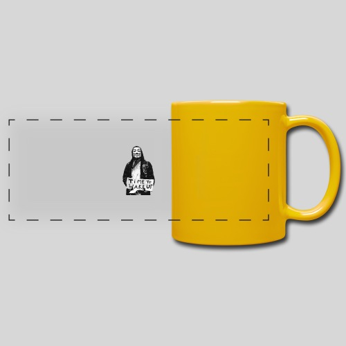 Time to wake up - Mug panoramique uni