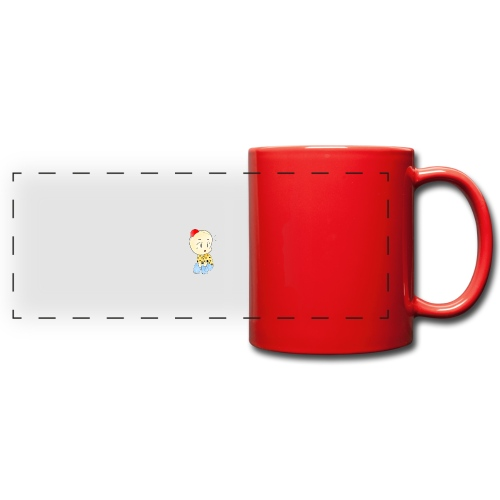 CLOWN RUNDO - Tazza colorata con vista