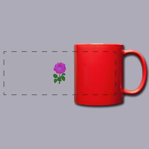 Landryn Design - Pink rose - Full Color Panoramic Mug