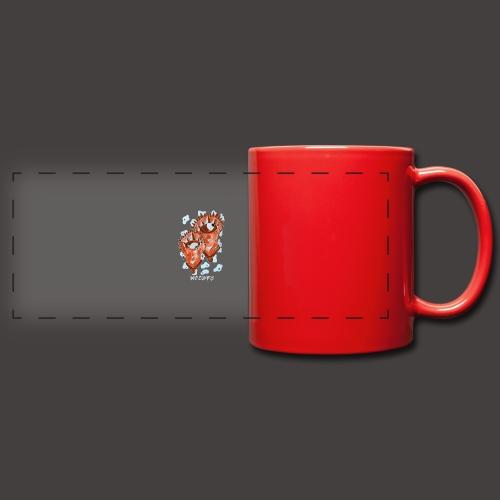 Gémeaux Négutif - Mug panoramique uni