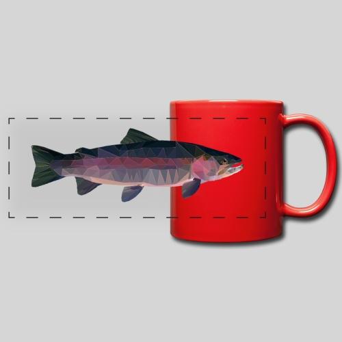 Trout - Panoraamamuki värillinen