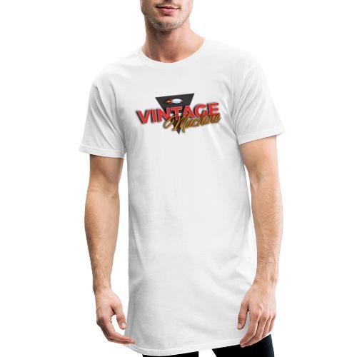 LOGO VINTAGE MACHINE couleur V3 - T-shirt long Homme