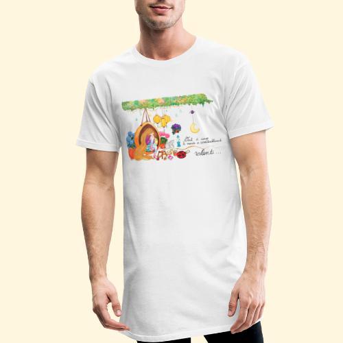 Tout à coup, le temps a considérablement ralenti - T-shirt long Homme