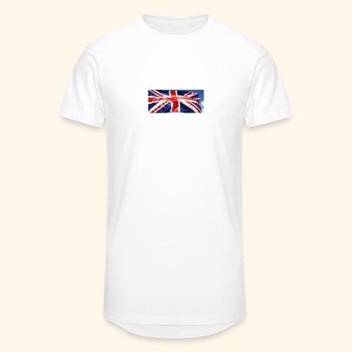 UK flag - Men's Long Body Urban Tee