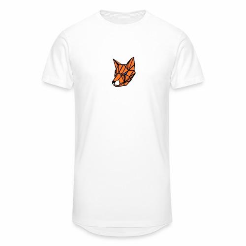 renard geometrique - T-shirt long Homme