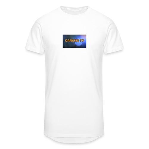 DARIUSZ TV - Długa koszulka męska urban style