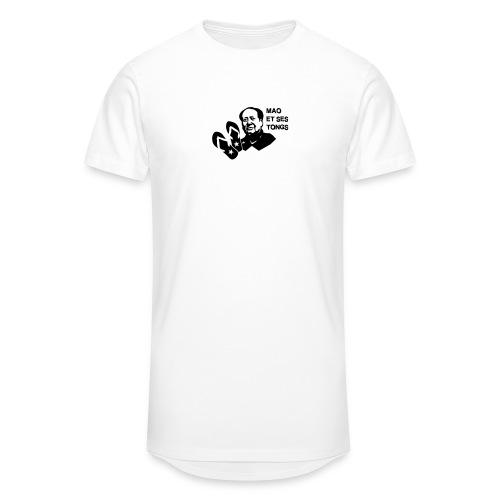 MAO et ses tongs - T-shirt long Homme