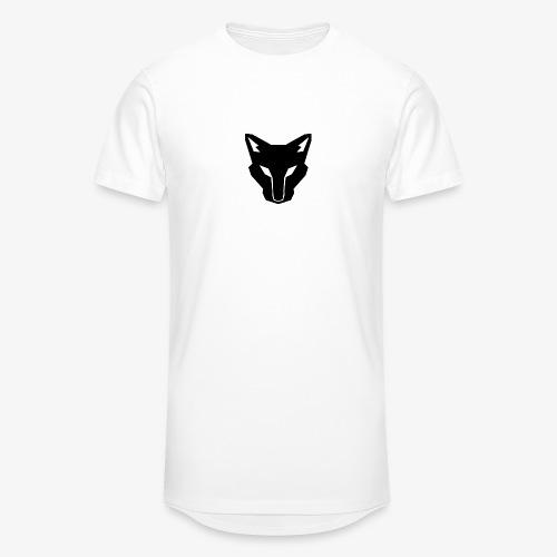 OokamiShirt Noir - T-shirt long Homme