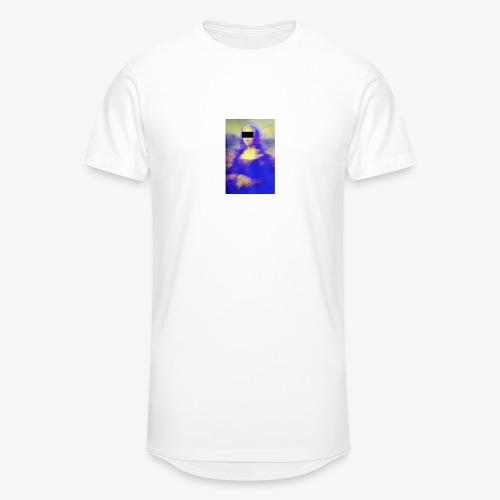 Mona Lisa X DNA Tee - Men's Long Body Urban Tee