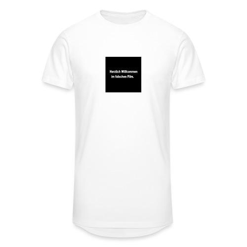 Willkommen im Falschen Film - Männer Urban Longshirt