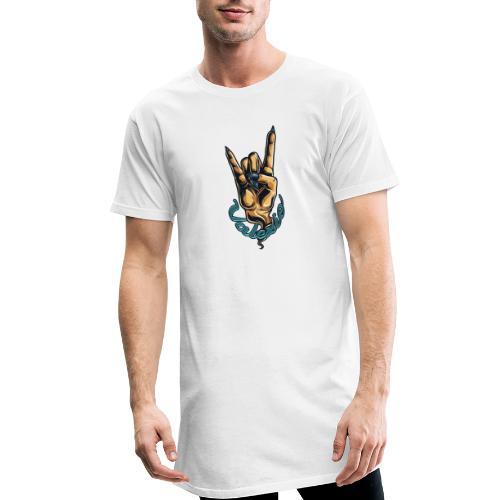 Valexio T-shirt Devils Wrist - Urban lång T-shirt herr
