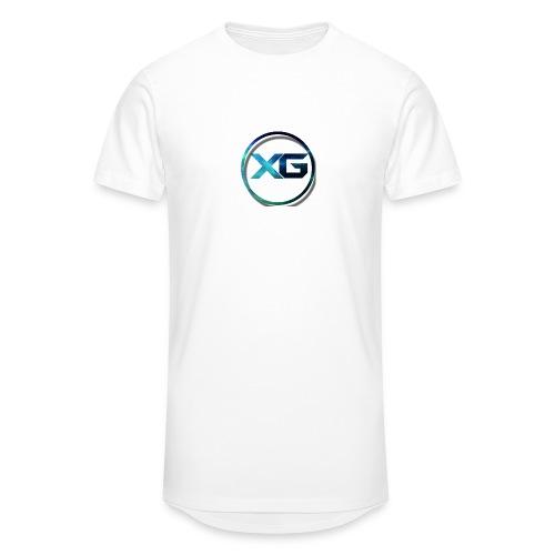 XG T-shirt - Mannen Urban longshirt