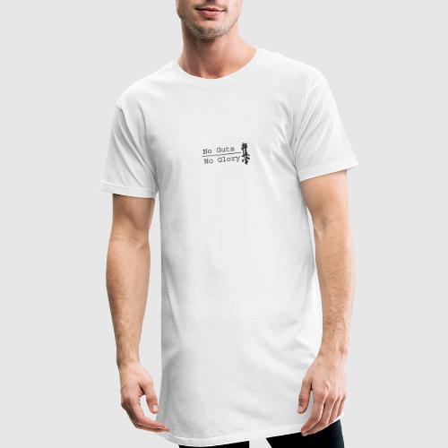 No guts No glory logo - Mannen Urban longshirt