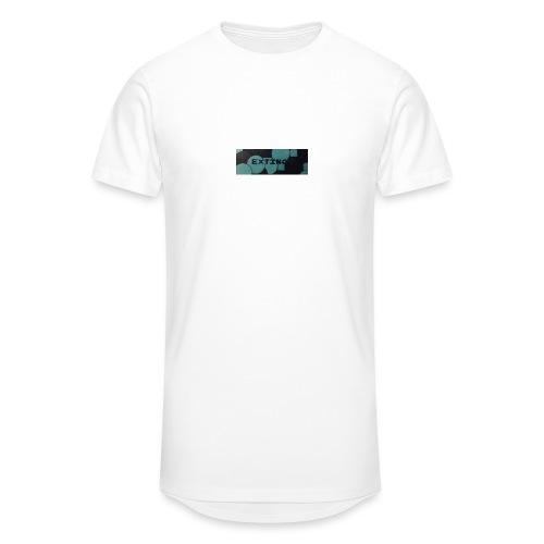 Extinct box logo - Men's Long Body Urban Tee