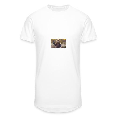 grizzly bear2 jpg - Men's Long Body Urban Tee