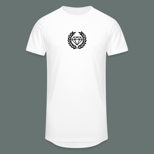 Black diamond Logo - Men's Long Body Urban Tee