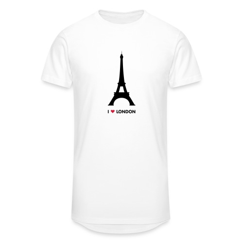 I love London - Mannen Urban longshirt